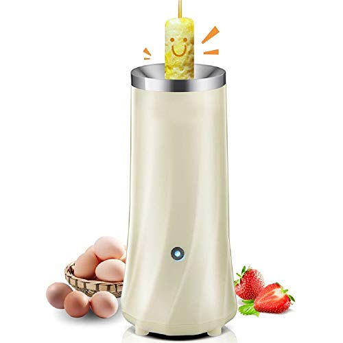 Best Quality - Egg Poachers - Automatic Multifunctional Electric Egg Cup Omelette Household Eggs Pancake Roll Machine Egg Cooker Kitchen Tools (White)