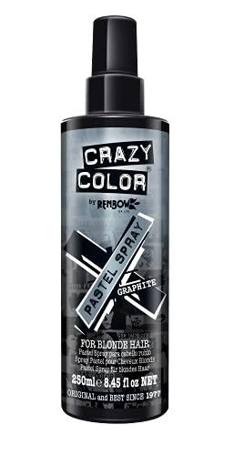 Crazy Color Gekleurde haarspray Graphite Grijs