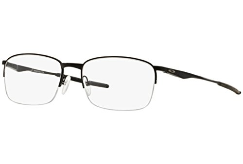 Oakley Wingfold 0.5 OX5101-0153 Satin Black Semi-Rimless Eyeglasses 53mm