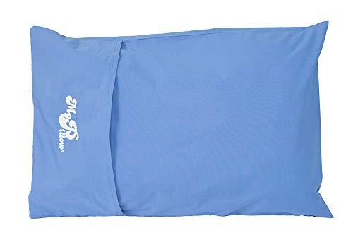 roll pillow for kids MyPillow Roll & GoAnywhere Pillow (Daybreak Blue)