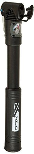 XLC Unisex– Erwachsene Luftpumpe und Minipumpe Alpha PU-D01, Schwarz, unisize