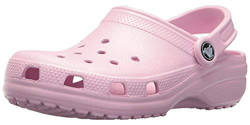 Crocs Classic, Zuecos Unisex Adulto, Rosa (Ballerina Pink), 37/38 EU