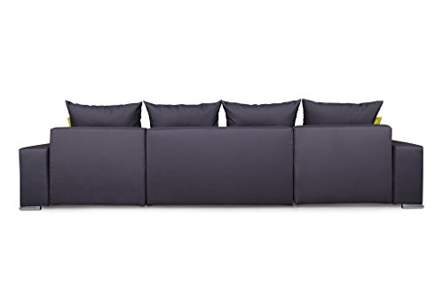 Ecksofa Couch –  günstig Collection AB Jockey  Stoff Bild 5*