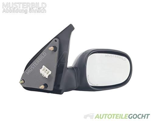 bester Test von toyota verso s Eine Reihe von Außenspiegeln.  Beheizte konvexe Oberfläche für Autoteile Gocht TOYOTA VERSO S P1210-16