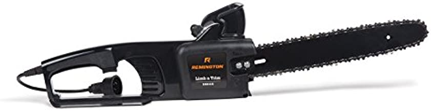 Remington RM1425 Limb N Trim 8 Amp 14-Inch Lightweight Corded Electric Chainsaw, Black