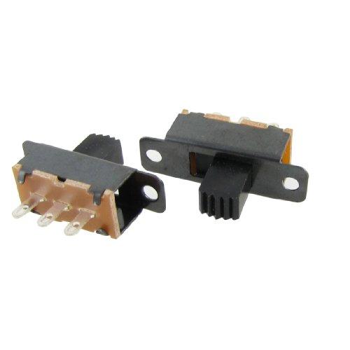 sourcing map 20 Stk 7mm Höhe Regler 3 Pin 2 Position 1P2T SPDT Panel Folie Schalter 0.5A 50V