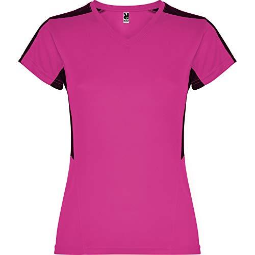 ROLY Camiseta Suzuka 6657 Mujer Fucsia/Negro 4002 XL