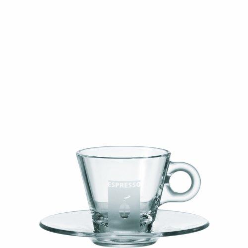 LEONARDO Espressotasse mit Untertasse satiniert