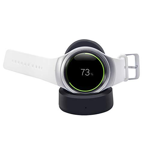 YANGZILING QUELLIA Standard appropriative QI Chargeur sans Fil Dock for Samsung Pad S2 Vitesse / S2 Classique (Noir) (Color : Black)