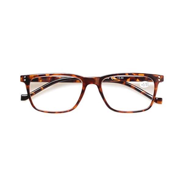 5 Pack Reading Glasses Men Women Spring Hinges Comfortable Glasses for Reading