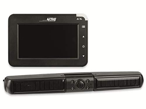 Pro User Solar Rückfahr-Kamerasystem digital Funk-Rückfahrkamera USB-Anschluss, Blende F2.0