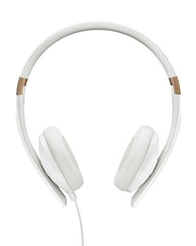 Sennheiser HD 2.30G - Auriculares de Diadema Cerrados (3.5 mm, Compatible con Android), Color Blanco