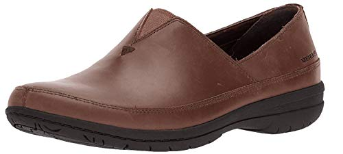 Merrell Women's Encore Kassie Moc Clog, Dark Earth, 6 Medium US