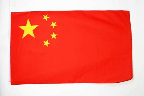 AZ FLAG Flagge China 90x60cm - CHINESISCHE Fahne 60 x 90 cm - flaggen Top Qualität