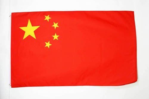 AZ FLAG Drapeau Chine 90x60cm - Drapeau Chinois 60 x 90 cm - Drapeaux