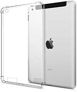 iPad 1 / iPad 2 / iPad 3 / iPad 4 (9.7 inches) (Old Model) Case Cover Back Corner Protection Soft Silicone Shockproof Prem...