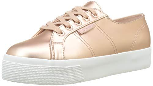 Superga Damen 2730-SYNTPEARLEDW Sneaker, Rosa Pink Nude W4g, 37 EU