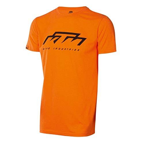 KTM Factory Team Herren T-Shirt Orange...