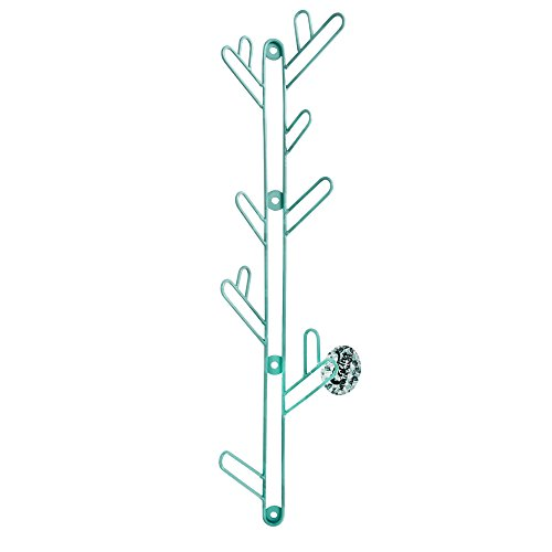 Helio Ferretti HF Porte-Manteau en Forme de Cactus, métal, Turquoise, 60 x 14 x 7 cm
