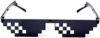 نظارات شمسية للحفلات من فيلم الفرقة الموسيقية والحياة الفسيفساء MLG صور الدعائم نظارات للبالغين والمراهقين, أسود,