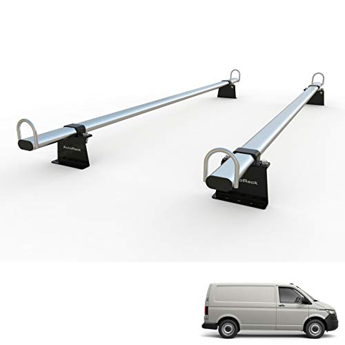 Transporter T5 – T6 T6.1 furgoneta portaequipajes de techo 2 barras – AutoRack WorkReady