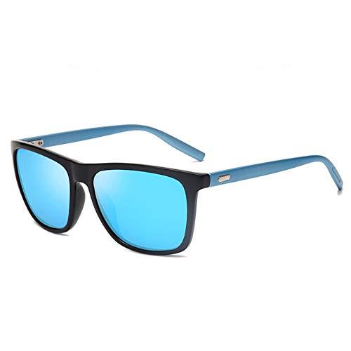 N/A Gafas de Sol polarizadas Retro clásicas con LentesUnisex,diseño de Marca para Mujer/Hombre, Gafas de Sol cuadradas para Conducir, Gafas Regalo de cumpleaños