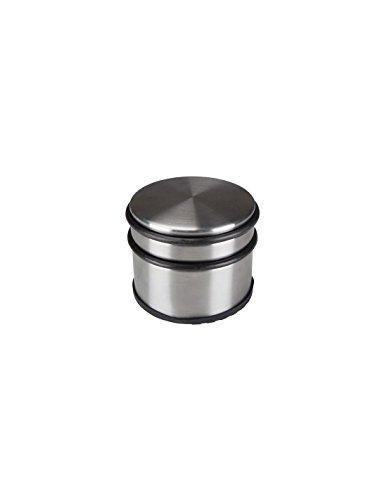 TOOLLAND TL74051 - Fermaporta in acciaio INOX, diametro 9 cm x altezza 7,5 cm, peso 1,1 kg