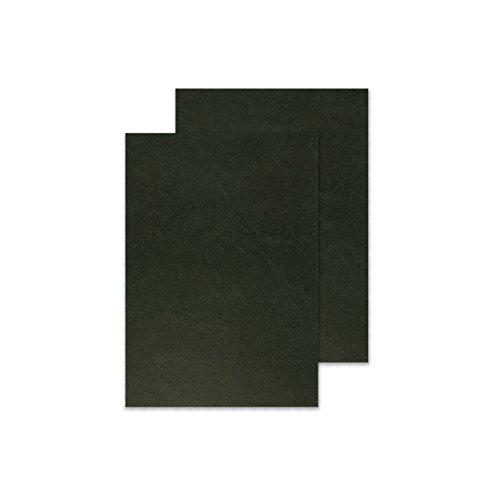 Q-Connect KF00501 Kartondeckel, 250 g/qm, 100 Stück schwarz
