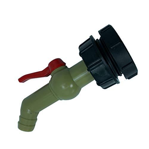 #N/a Adaptador de Tanque IBC, Conector de Manguera de Agua para Patio, Válvula de Rosca de 62 Mm, Accesorio de 32 Mm