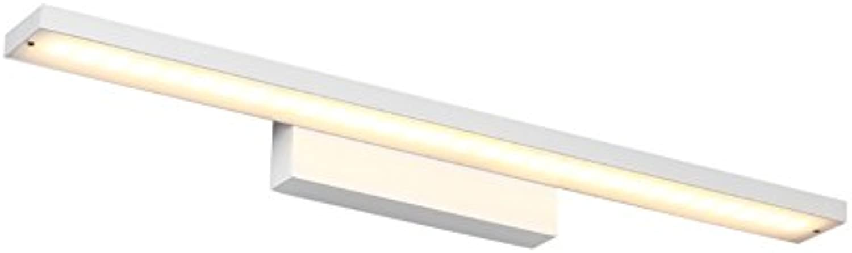 badezimmerlampe Spiegel-vordere Lichter, einfache Wand-Lampe wasserdichte Badezimmer-Lichter LED-Wand-Lichter, die Wand-Lichter, warmes Wei, kühles Wei kleiden Schminklicht