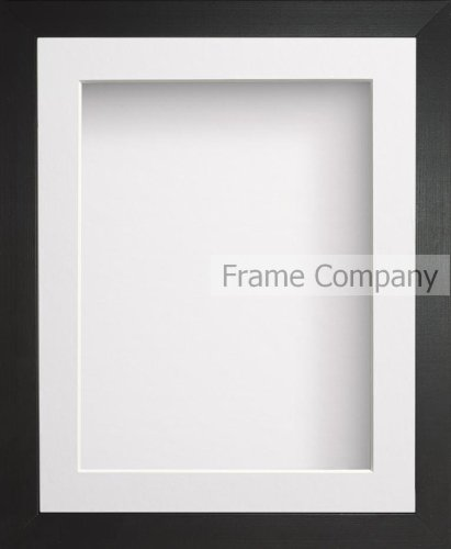 Frame Company Radcliffe Wooden Deep Box Frame with White Mount * Choice of Sizes* NEW
