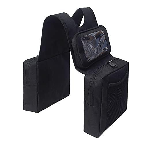 Funien Monitor de presión de neumáticos,Universal Outdoor FuelTank Saddlebags Moto Moto Izquierda Derecha Saddle Swingarm Bolsas de Herramientas Motocicleta Saddle Bag Saddlebag para ATV Side Bag