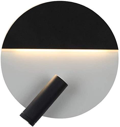 Wlnnes Moderno Interior Brillante LED de Pared Sconte Ajustable 350 ° ángulo de Pared Luz de Pared Lámparas Pasillo Escaleras Hoteles Cama Sala de Estar Sala de Estar Dormitorio