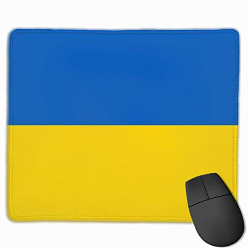 Ukraine Flagge von Blau Gelb Mauspad, Antike Slip Mausmatte für Desktops, Computer, PC und Laptops, Customized Mousepad