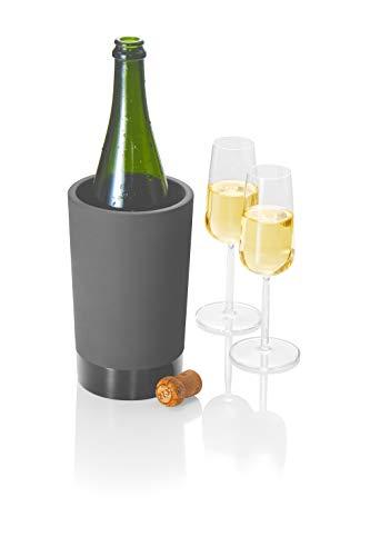 Flaschenkühler für Wein und Sekt Flaschen I Keramik I Hält das Getränk 4-6 Stunden abgekühlt durch Verdunstung