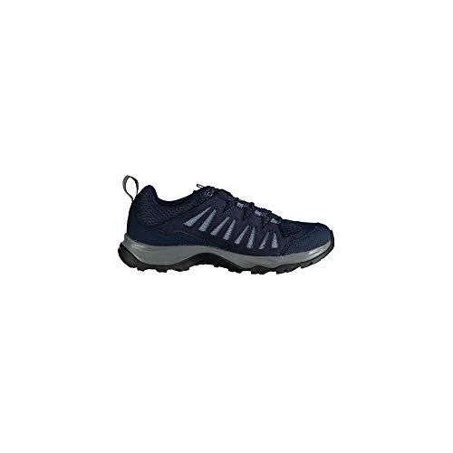 SALOMON Shoes EOS Aero, Zapatillas de Trekking Hombre, Multicolor (Sargasso Sea/Navy Blazer/Flint Ston), 42 2/3 EU