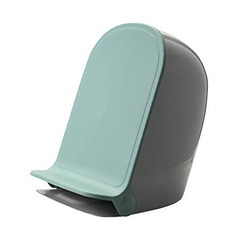 DWQ Einfacher menschlicher Mülleimer Pedal Small Trash Can Papierkorb 0,92 Gallonen (4,2 L), Verwendet In Büro, Badezimmer, Wohnzimmer, Mülleimer, Abnehmbare Lin Hausmüllsortierung (Color : Green)