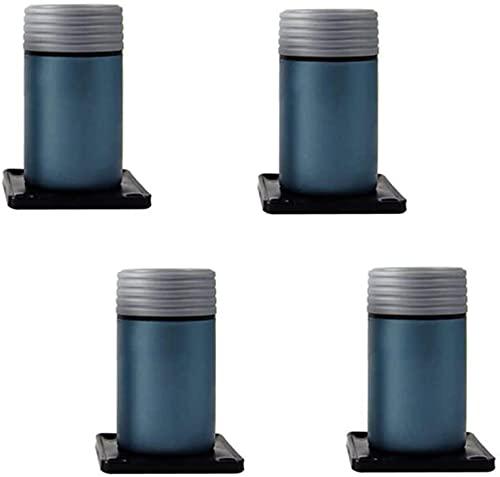 FTYYSWL 4 patas ajustables para muebles, patas de repuesto de pie, 8 – 15 cm, accesorios para cama de pie