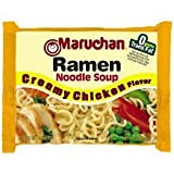 Creamy Chicken Flavoed Ramen Noodles (Pack of 8)