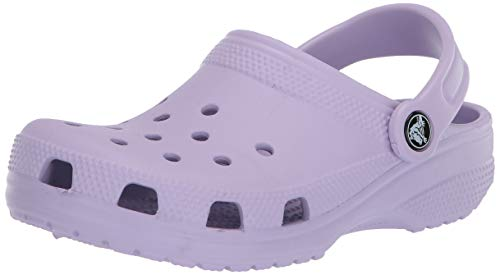 Crocs Classic Clog|Comfortable Slip On Casual Water Shoe, Lavender, 9 M US Women / 7 M US Men
