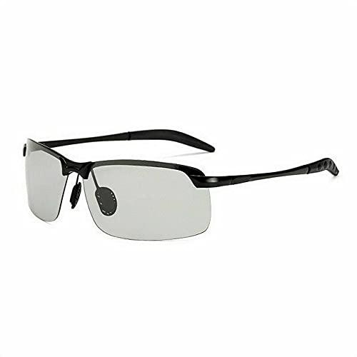 Gafas de sol fotocromáticas para hombres, gafas de conducción polarizadas para piloto, gafas de pesca polarizadas, protección UV400