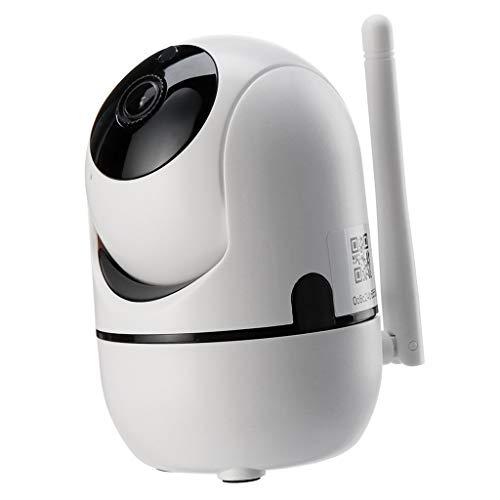 Baoblaze Monitor Inalámbrico Del Bebé de La Cámara de Seguridad de Wifi para, Tarjeta Del TF de Las Ayudas