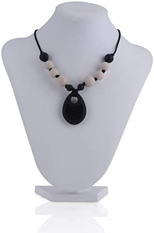 Nuby Baby Teething Trends Necklace for Moms with Beads Pendant product image