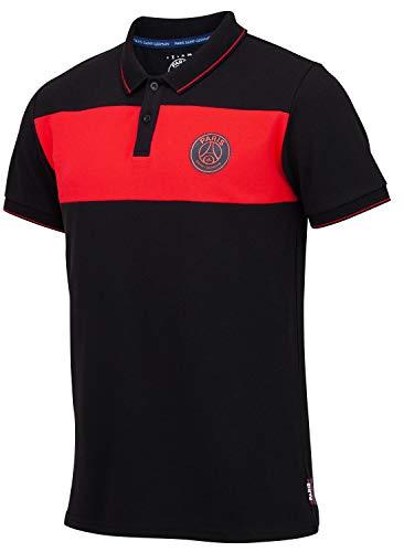 Paris Saint-Germain Poloshirt PSG, offizielle Kollektion, Herrengröße XL Schwarz