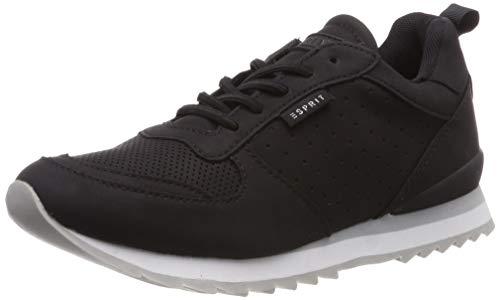 ESPRIT Damen Astro Elstc. LU Sneaker, Schwarz (Black 001), 39 EU
