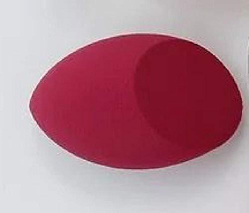3pcsMakeup Mélangeur Sans Latex Comestic Spécial En Forme D'œuf En Forme D'éponge Bouffée Sèche Et Wet Utilisez Fondation Muti-Couleur Puff-Wine_Red_B