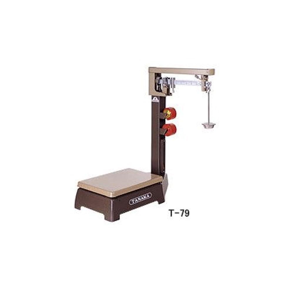 市の花リハーサルプラスチックTANAKA 機械式台はかり 規格台ひょう P-250(金筒)
