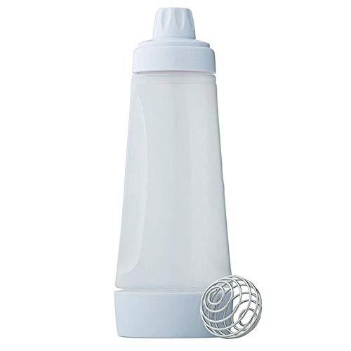 Oulensy 1000ml Pfannkuchenteig Mixer Flasche Pfannkuchen Waffeln Crepes Dispenser