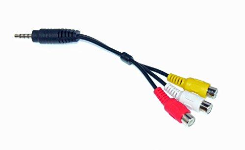 OEM LG AV Cable Adapter – NOT A Generic! 60UH7700, 47LS5700-UA, 55LV9500, 47LM6400, 55LV355B-UA, 47GA6400