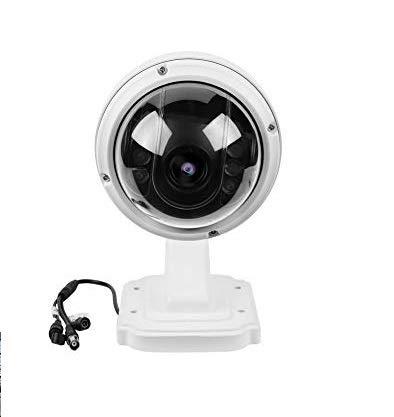 PTZ Dome Camera, AHD 1080 P Wireless 5XZOOM Outdoor PTZ Speed Dome Telecamera di Sicurezza WiFi IP Visione Notturna IR Cam